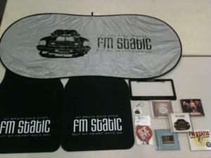 fm static prize pack