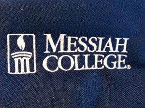 Messiah College Backpack1