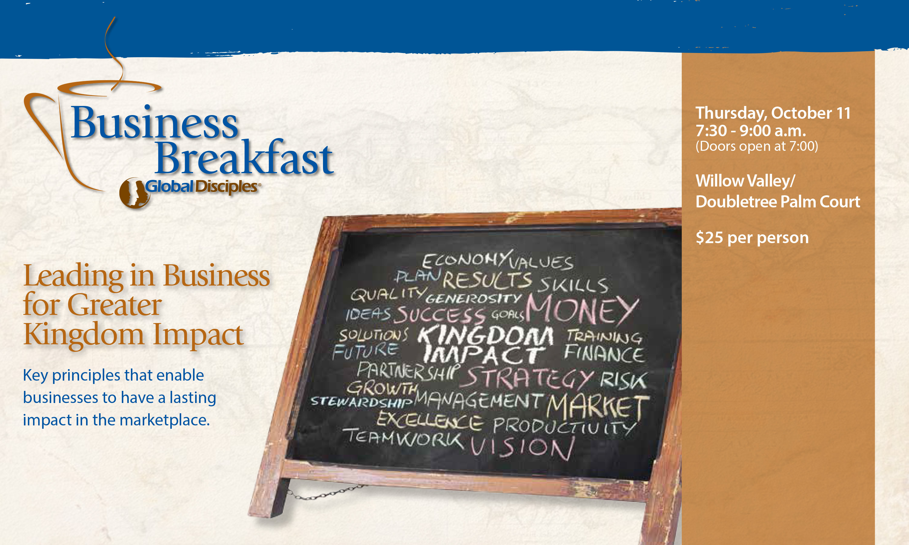 Business Breakfast Invitation - Page 1