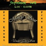 Coffee House September 16th Under The Son
