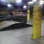 Just a corner of the skatepark!