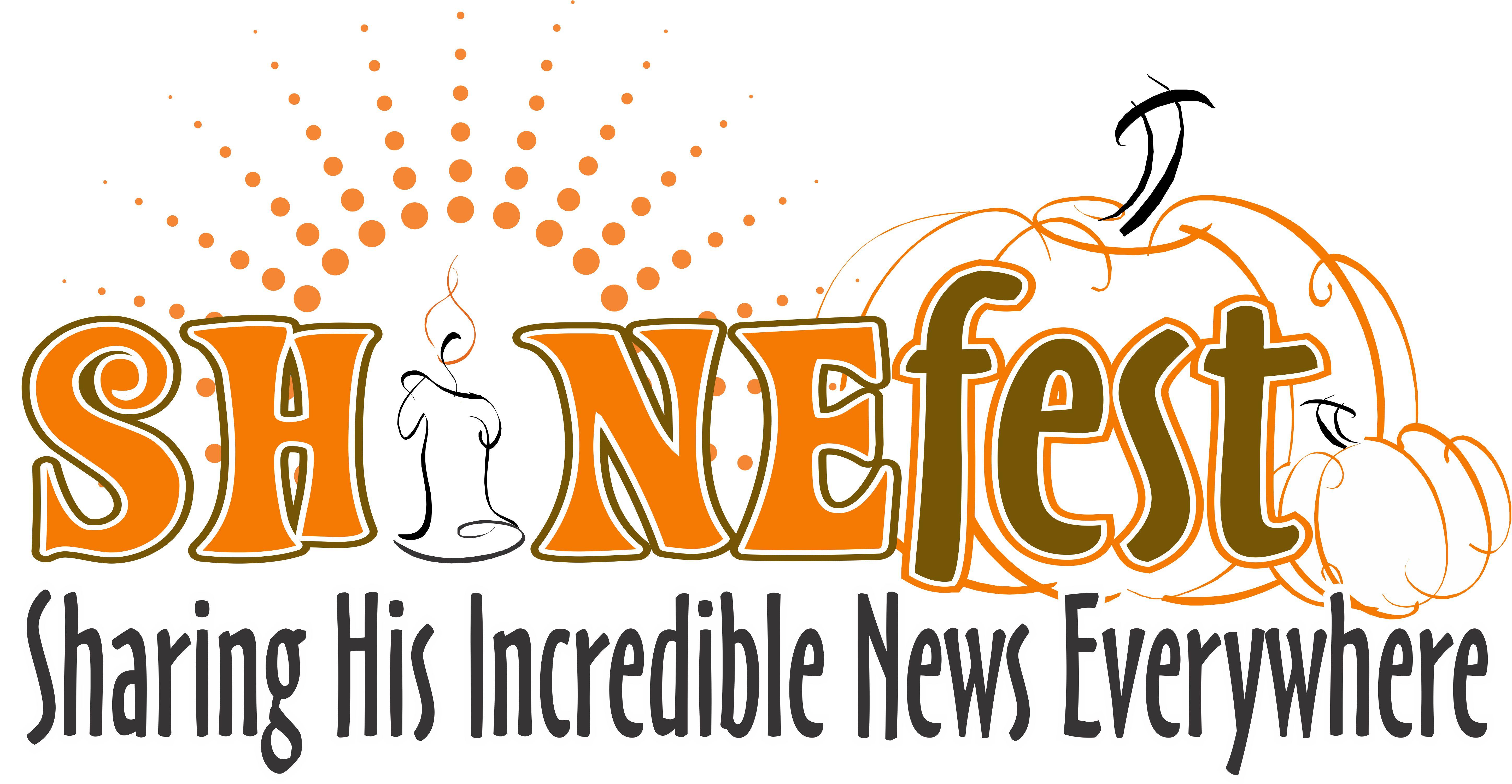Shinefest logo sharing