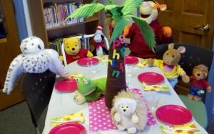 animal pj party