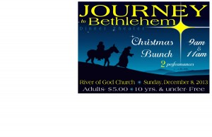 Jourbey to Bethlehem Poster small