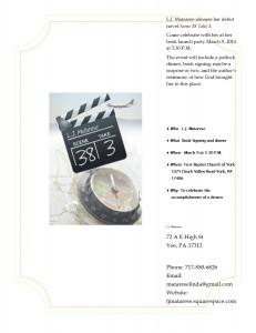 Scene 38 Take 3 Flyer