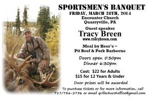 Sportsmens Banquet 2014 Postcard