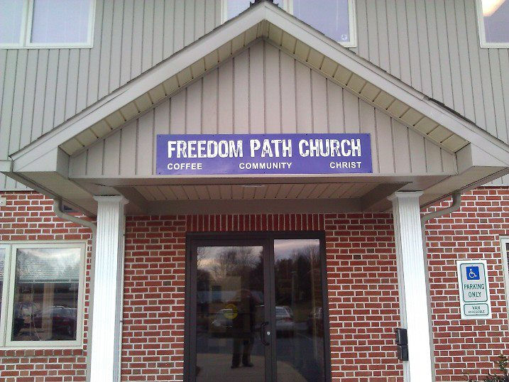 Freedom Path Entrance