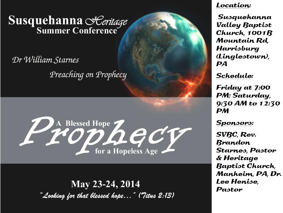 BC 2014 Prophecy Flier