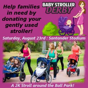 Gently used strollers