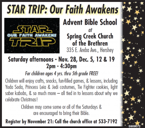 Advent Bible School 2015