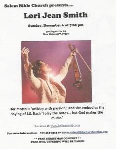Lori Jean Smith Concert