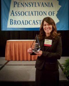 lisa with award