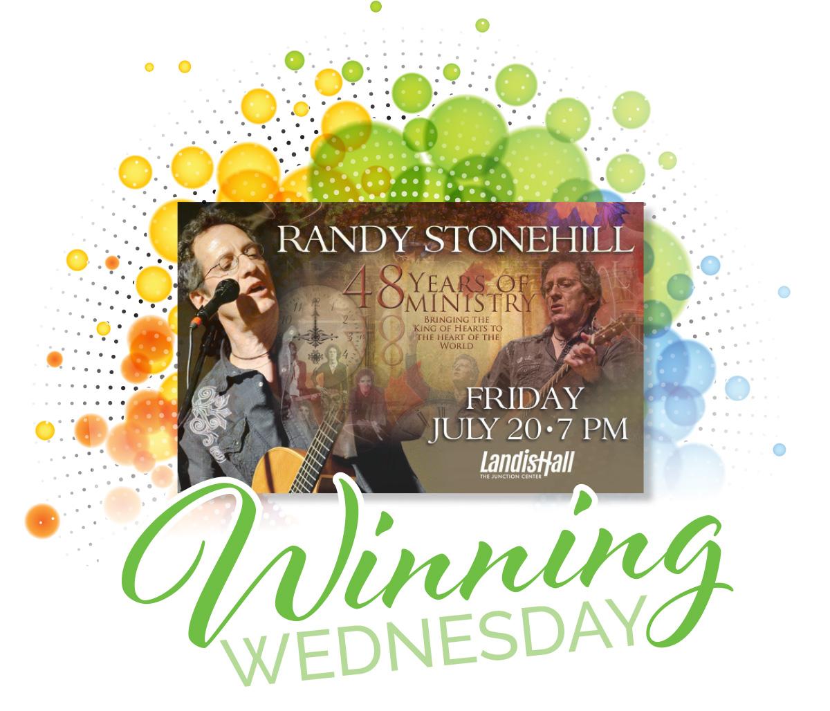 Randy Stonehill Winning Wednesday
