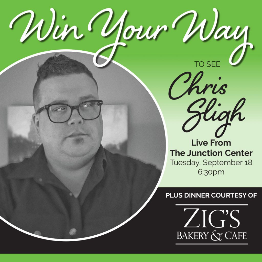 Win Your Way To See Chris Sligh